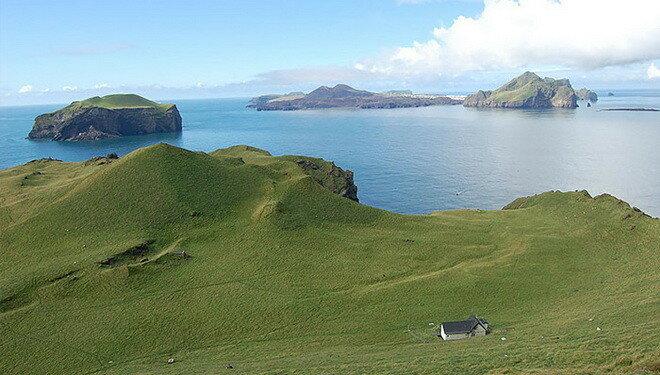 Остров Эллиадэй. Исландия