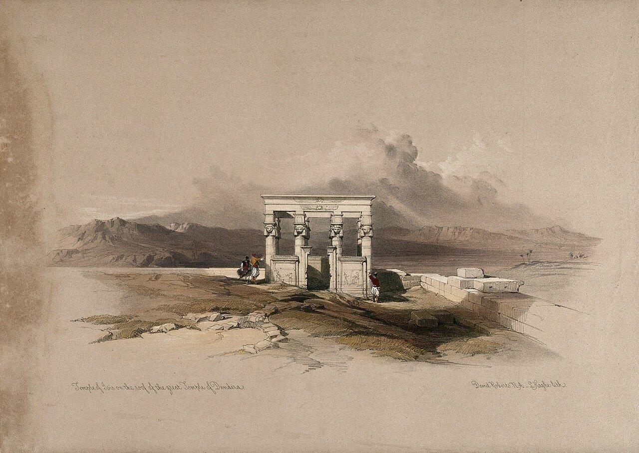 1848. Храм Изиды