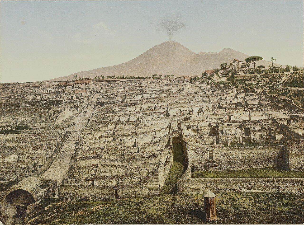 1889-1900. Помпеи и Везувий