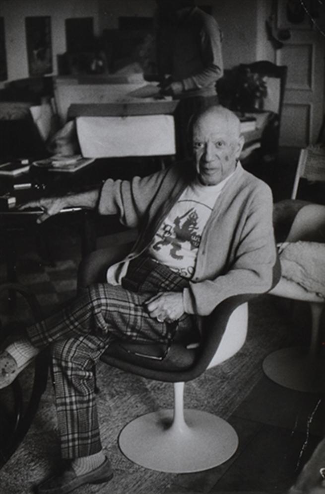 1971. Портрет сидящего Пикассо