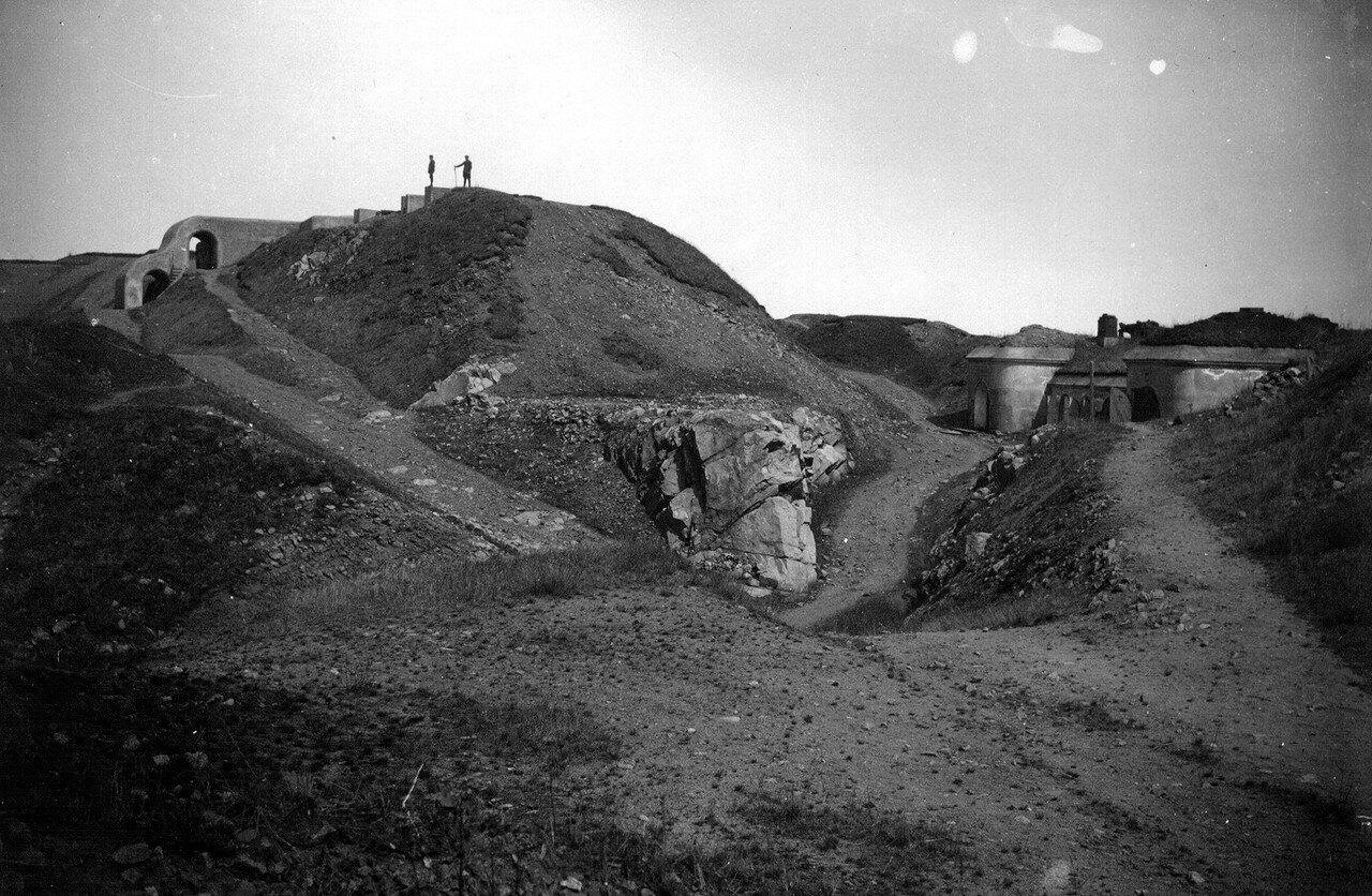 Внутренний дворик форта Русский