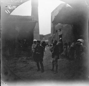 3 ноября. Бухара. Вид вниз по улице в сторону минарета комплекса Пои-Калян