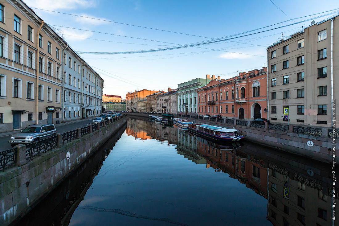 Санкт-Петербург прогулочные теплоходы на реке Мойка