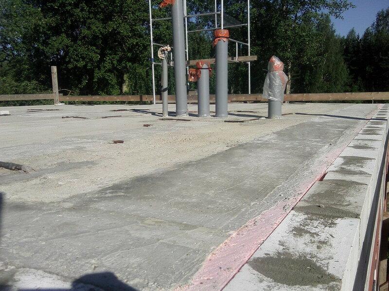 Стяжка бетонная