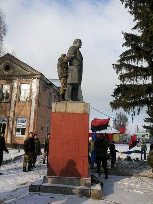 Кременчузькі националисты поздравили Степана Бандеру с Днем рождения