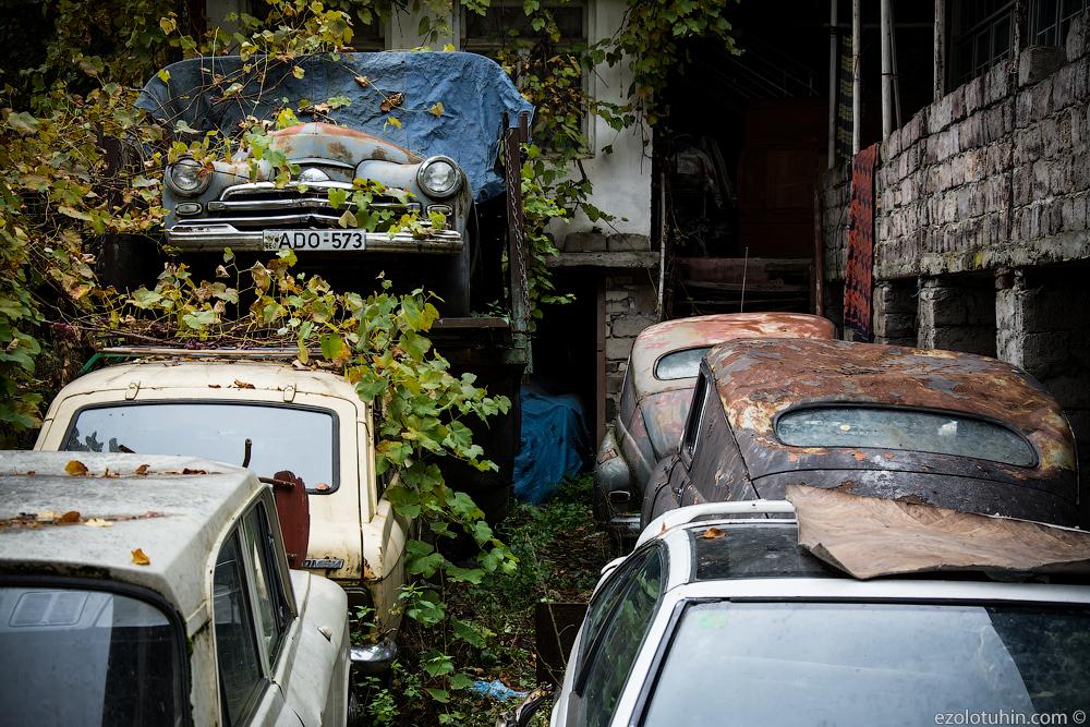 Кладбище автомобилей по-грузински