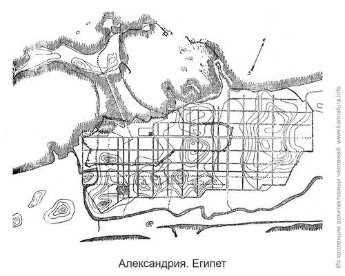 Александрия, генплан