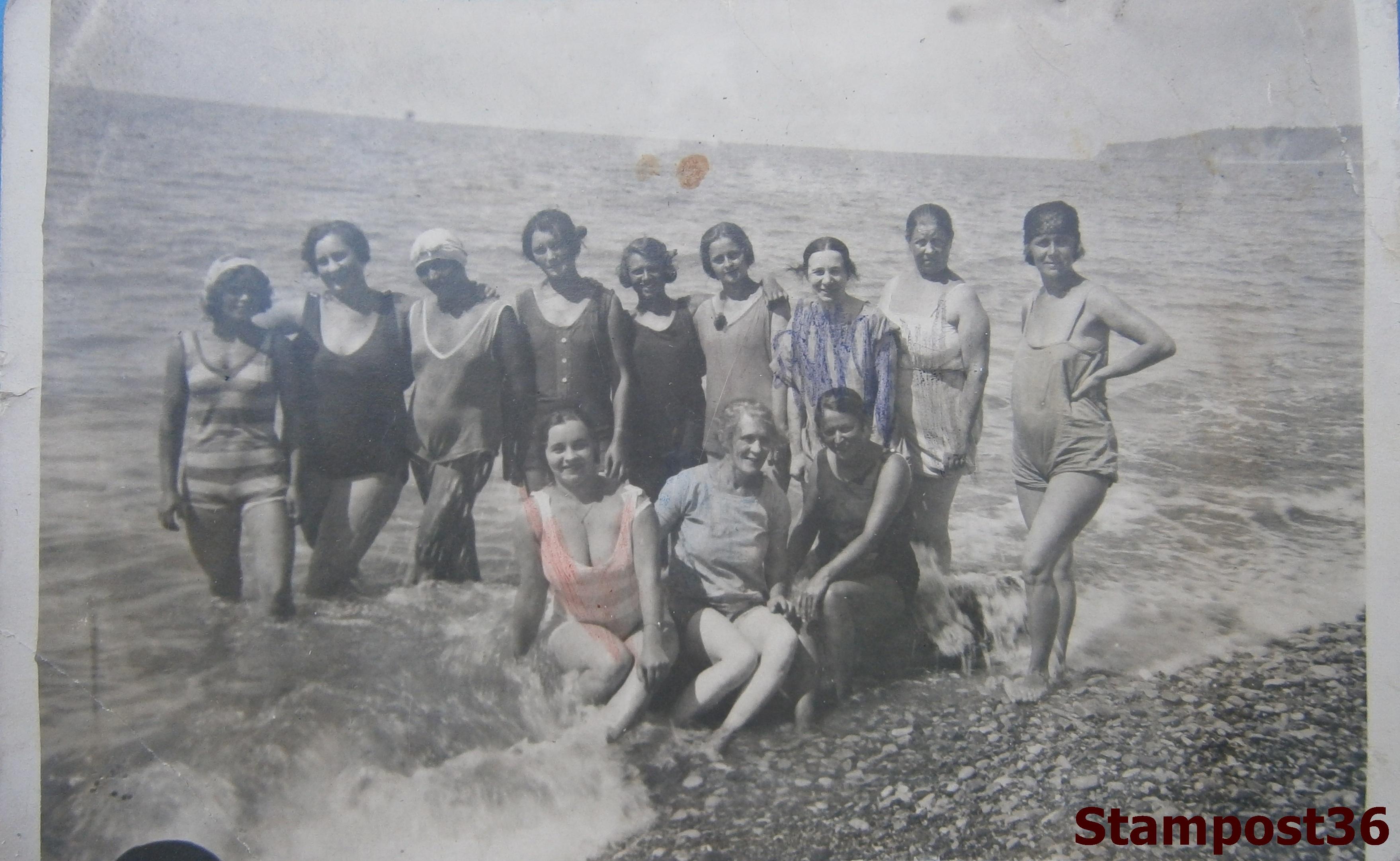 Советские пляжники 1920-х - 1930-х гг.