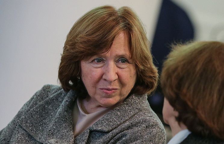 Нобелевский лауреат Светлана Алексиевич решила выйти изРусского ПЕН-Центра