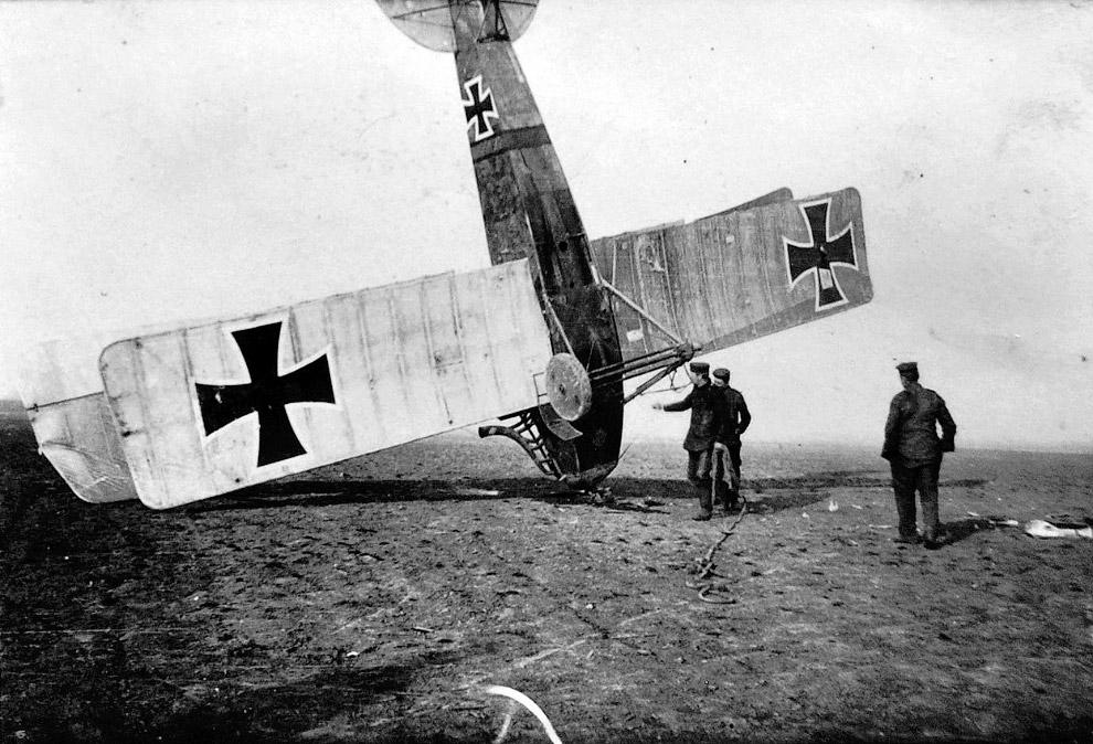 15. Авиация Первой мировой. Японский летчик, 1914 год.