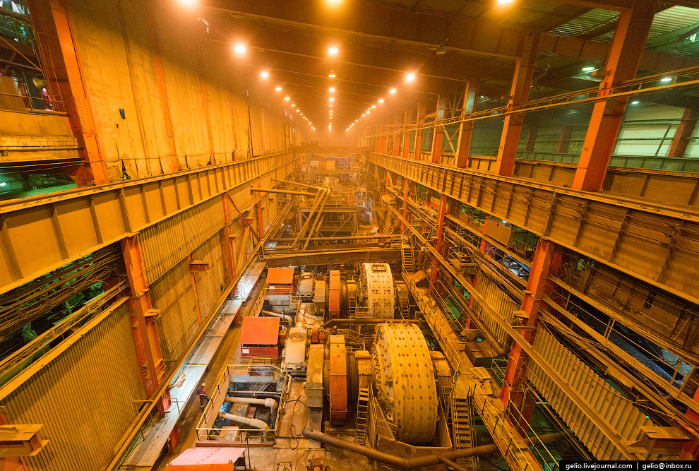 Диаметр мельницы — 7 метров: