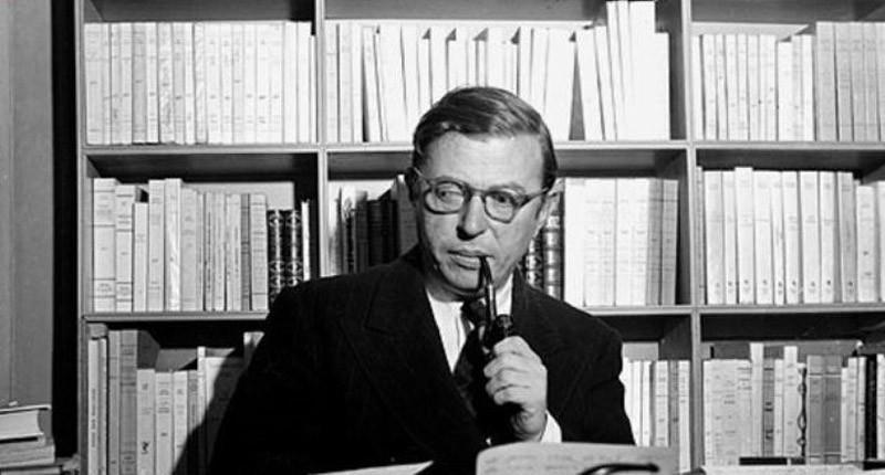 12. Жан-Поль Сартр (1905–1980) работал три часа утром и три часа вечером. Остальное время занимала с