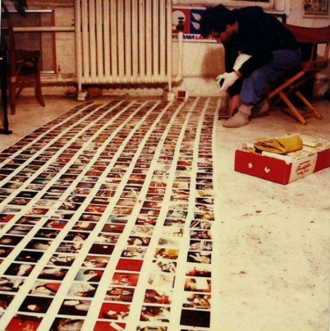 8мая 1985г.: Зеркала вснимках помогают передать атмосферу того дня
