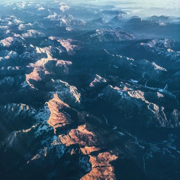 Захватывающий дух вид на Альпы (5 фото)