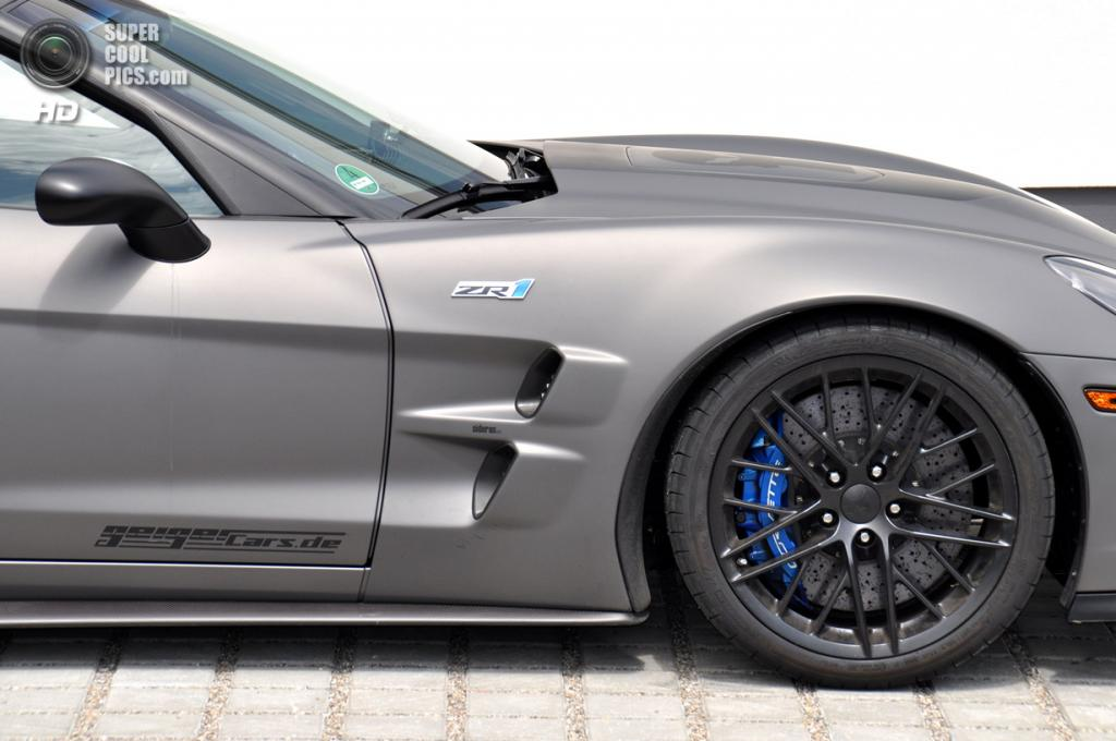 «Каратель» Chevrolet Corvette ZR1