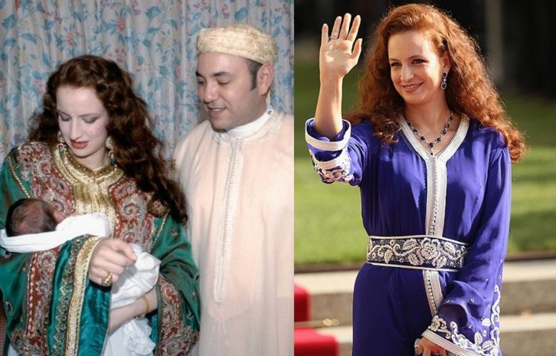 Лалла Сальма, принцесса Марокко Мухаммед Четвертый не мог не влюбиться в эту огненно-рыжую красотку.
