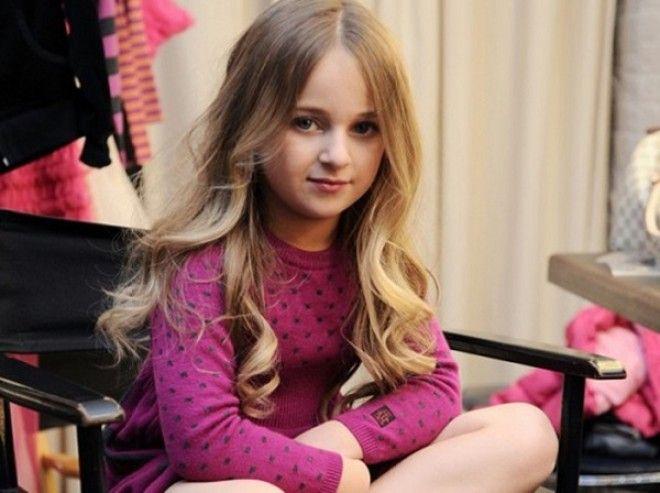 Солярий, акриловые ногти, нарощенные волосы: вот самый разбалованный ребенок