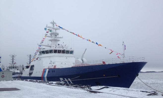 Погранслужба ФСБ получила вКронштадте сторожевик «Полярная звезда»