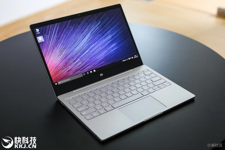 Xiaomi обновила ноутбук MiNotebook Air