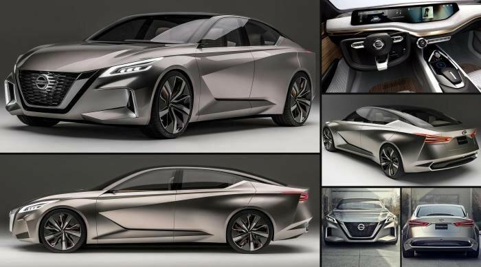 Vmotion 2.0 - концепт, которым Nissan продемонстрировал будущее своих автомобилей