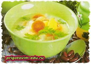 Густой суп с репой