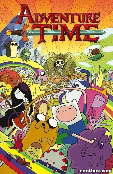 Время приключений с Финном и Джейком (Пора приключений) (1-6 сезон: 1-186 серии) / Adventure Time with Finn & Jake / 2010-2015 / ДБ, ЛД / SATRip