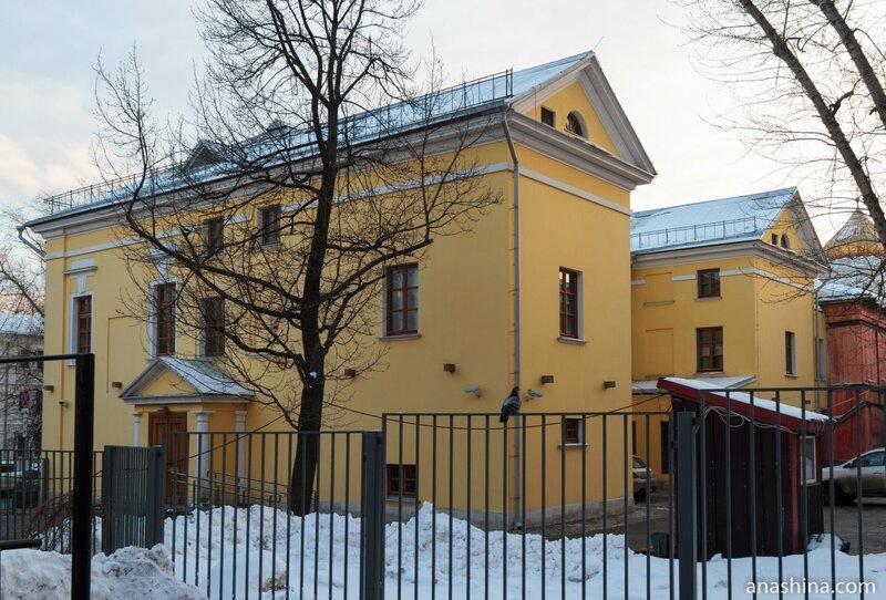 Главный дом усадьбы Рынкевичей