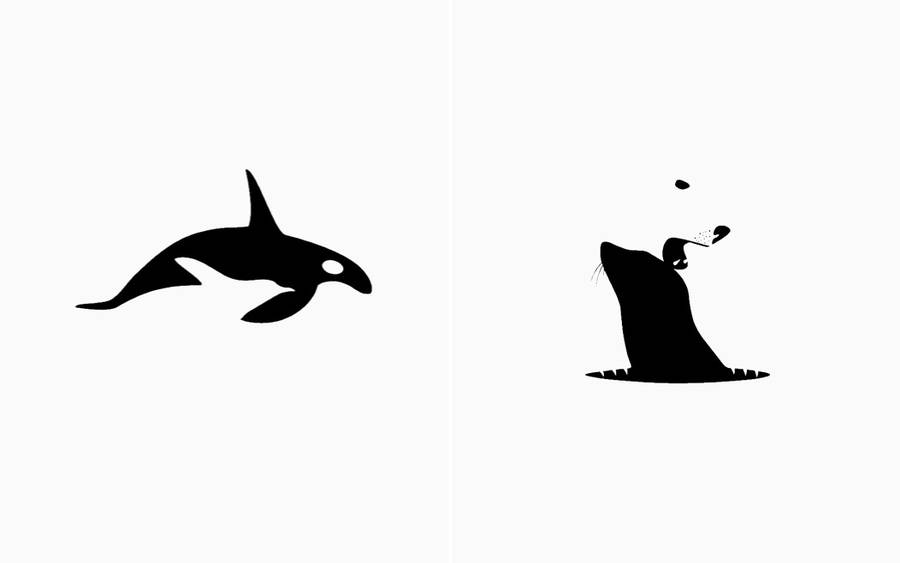 Clever Illustrations Showing Predators and Their Prey