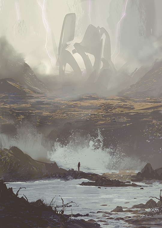 Brilliant Concept Art by Victor Mosquera