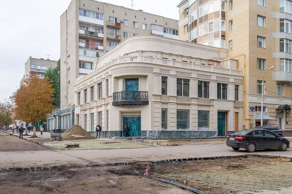Строительство пешеходной зоны Саратов фото 22