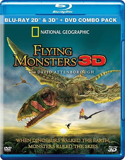 Крылатые монстры с Дэвидом Аттенборо 3D / Flying Monsters with David Attenborough 3D