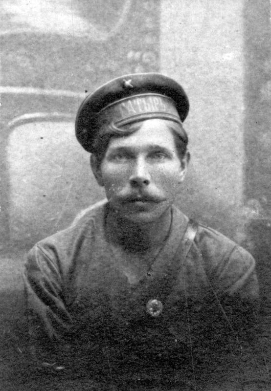 Пулемётчик 1-й роты полка Красных Орлов Ильин Л.С.