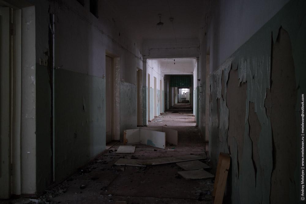 стены больницы номер шесть, второй этаж