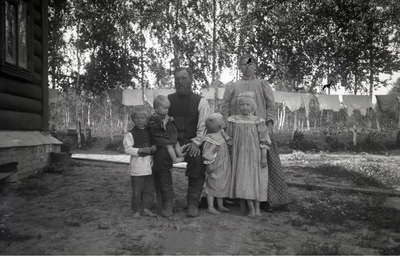 1890-е. Крестьянская семья