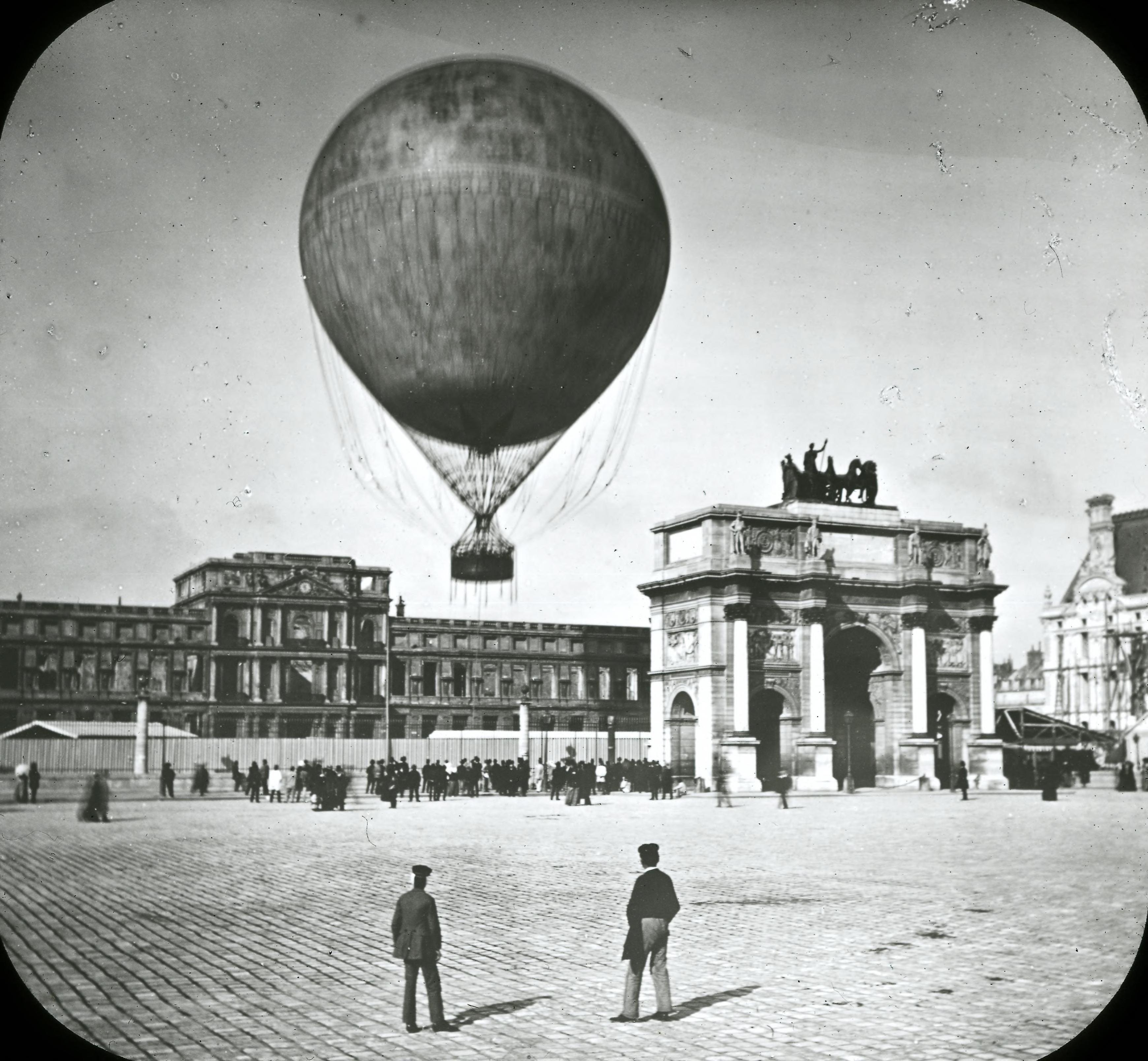 Площадь Карузель. Общий вид с Триумфальной аркой