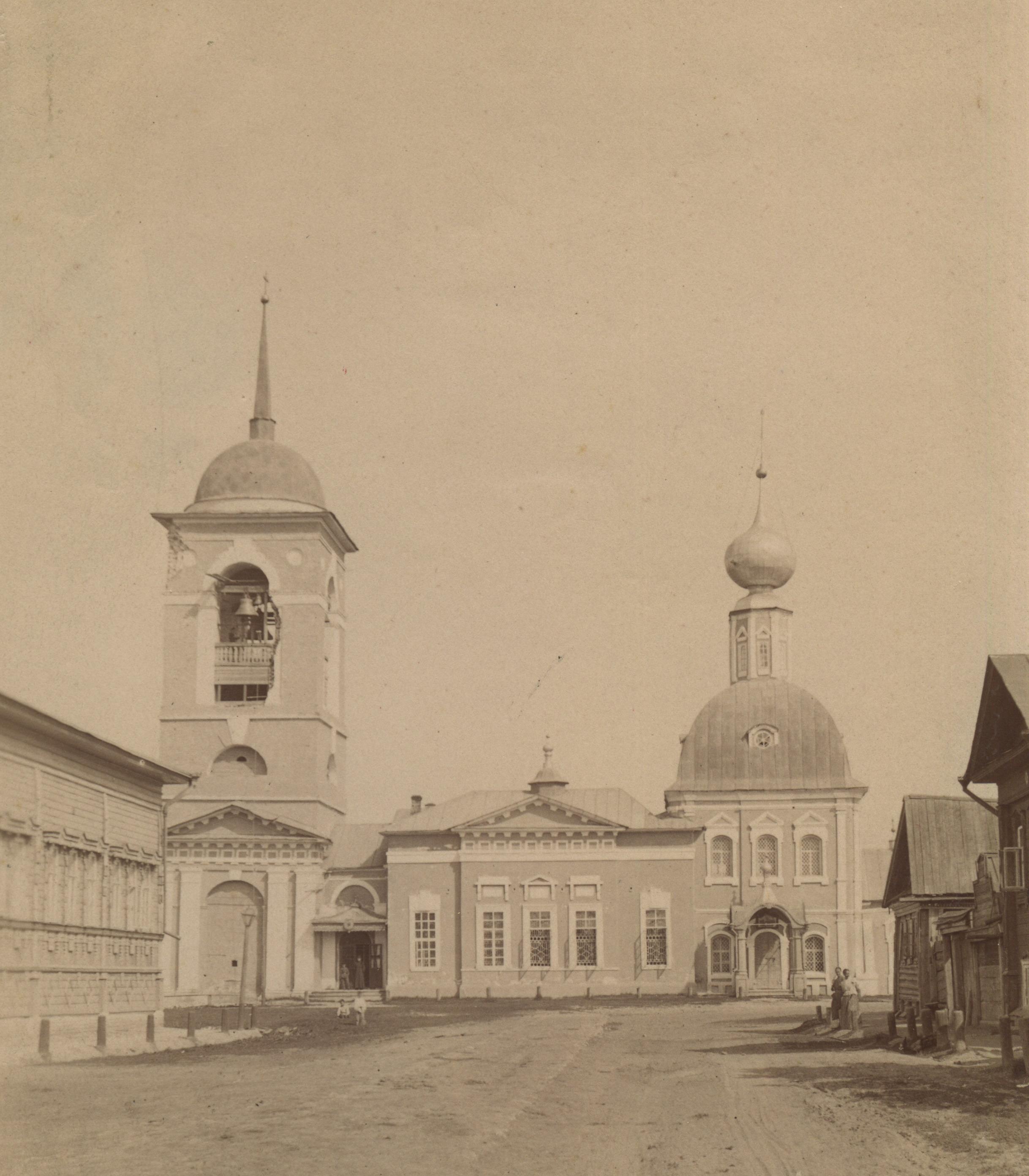 Успенская церковь. Вид с юга
