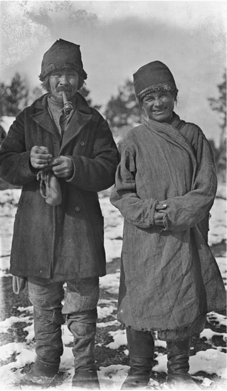 Павел Паршин и шаман Степан