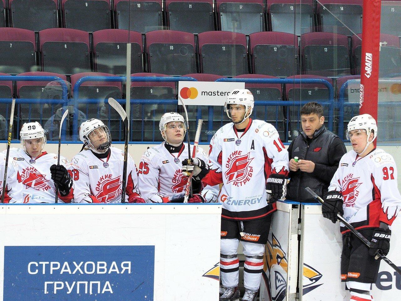 14Стальные Лисы - Омские Ястребы 13.12.2016