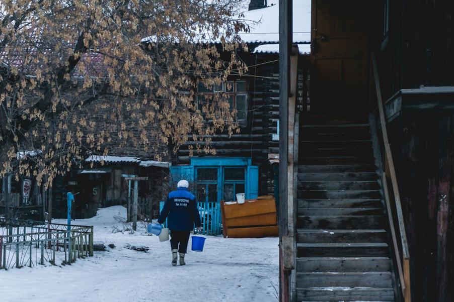 Сослали в Сибирь
