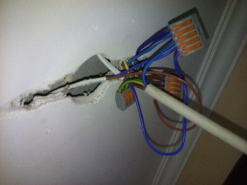Установка / переустановка светильников на подвесном гипсокартонном потолке в квартире