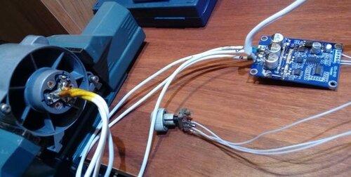 Brushless DC Motor Controller (Hallless)