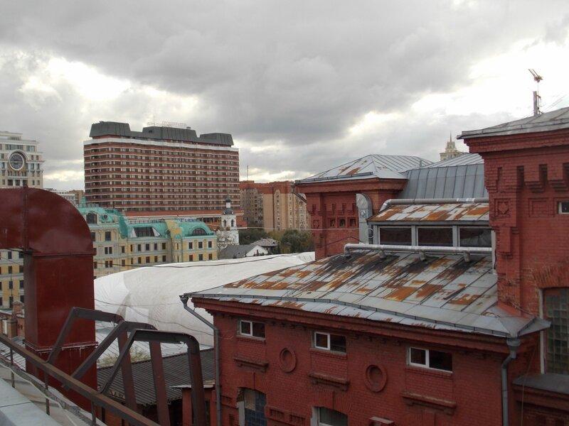 Президент-отель с крыши Красного Октября