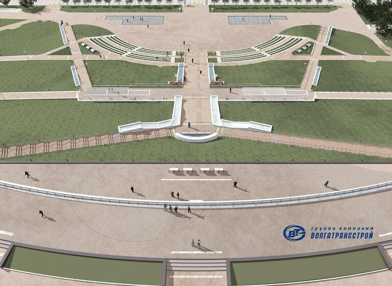 Реконстукция площади Славы
