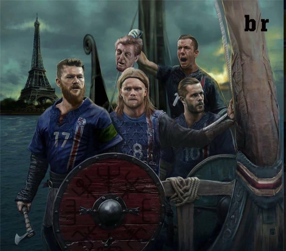 Евро 2016. Итоги четвертьфиналов. Викинги плывут домой героями