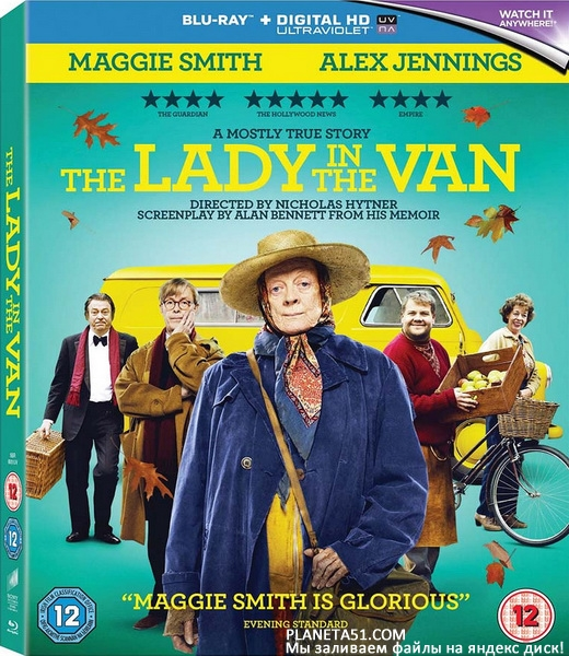 Леди в фургоне / The Lady in the Van (2015/BDRip/HDRip)