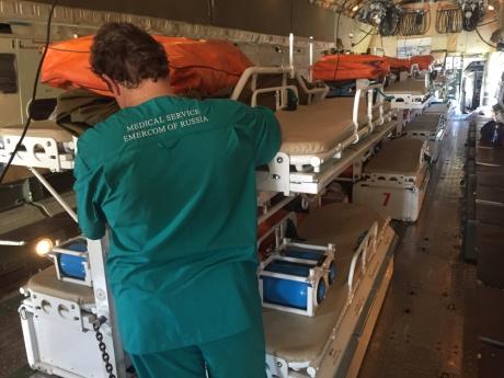 Десять пострадавших при взрыве газа вМахачкале доставят налечение в столицу