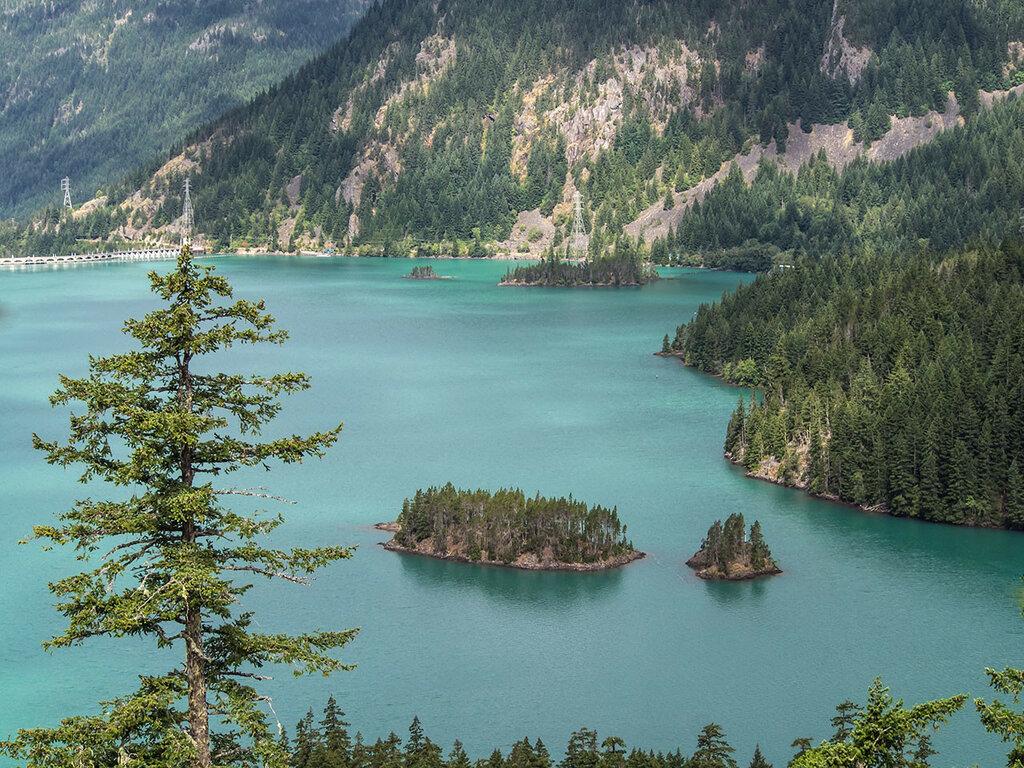 Островок на озере Диабло
