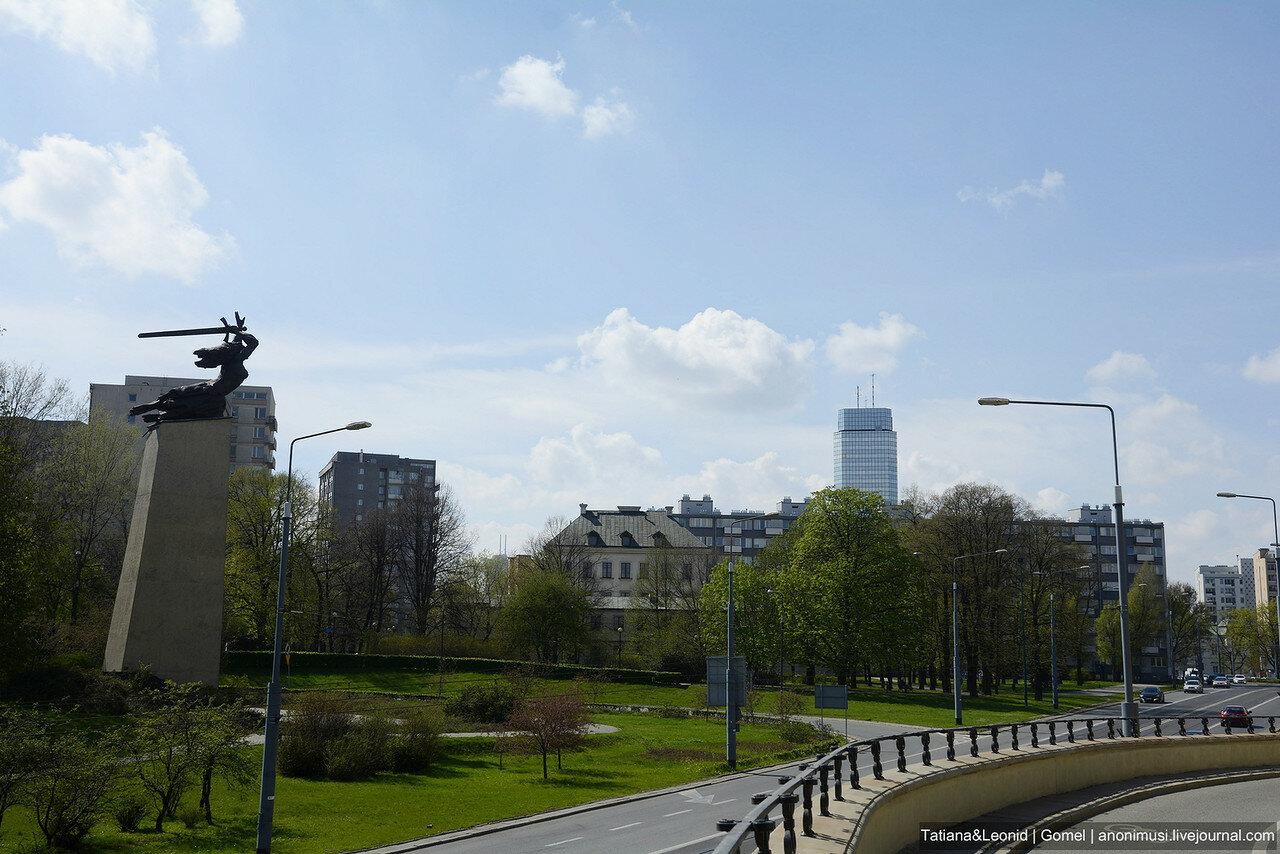 Варшава весной