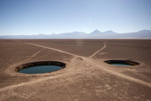 Вулкан Охос-дель-Саладо – одно из чудес природы (10 фото)
