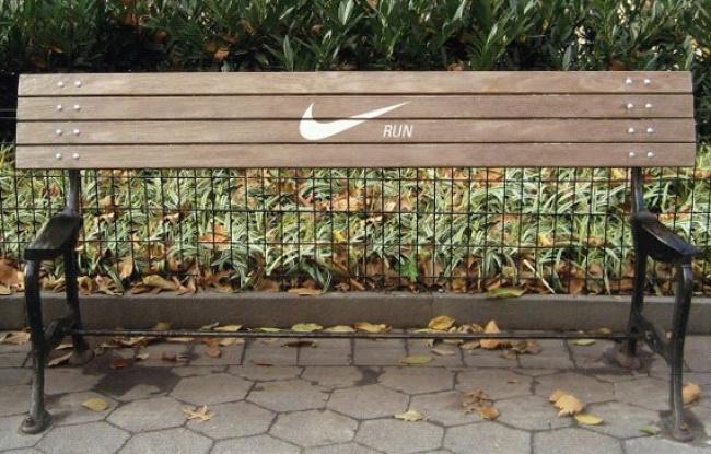 Совет от Nike: «Не теряй попусту время — бегай».